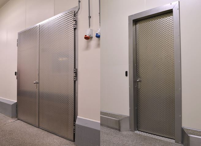 Hinged doors BDM steel
